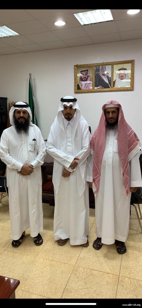 إدارة الجمعية تهنئ رئيس مركز وادي بن هشبل بحلول شهر رمضان المبارك