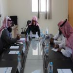 الخدمات الخيرية التنموية والرعوية ضمن المواضيع التي تم نقاشها  في اجتماع مجلس إدارة الجمعية
