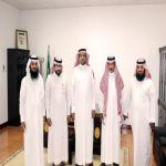 إدارة الجمعية تزور رئيس مركز وادي بن هشبل وتهنئه بعيد الاضحى ونجاح الحج