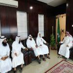 إدارة الجمعية تهنئ رئيس بلدية وادي بن هشبل بعيد الاضحى المبارك و نجاح الحج