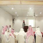 لقاء المرشدين الطلابيين بتعليم وادي بن هشبل في صالات تدريب جمعية البر بوادي بن هشبل