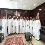إدارة الجمعية تهنئ رئيس بلدية وادي بن هشبل بعيد الفطر المبارك