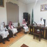 إدارة الجمعية تهنئ رئيس مركز وادي بن هشبل بعيد الاضحى المبارك و نجاح الحج
