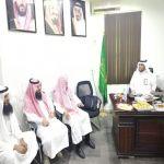 إدارة الجمعية تهنئ إدارة تعليم وادي بن هشبل بعيد الاضحى المبارك و نجاح الحج