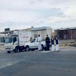 """""""160 وجبة مسافر يومياً"""" بتعاون و مشاركة الجهات الحكومية و الخيرية بوادي بن هشبل"""